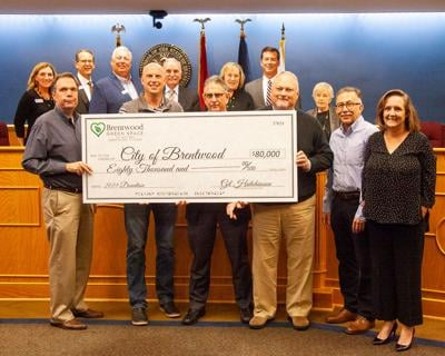 Brentwood Green Space donation Oct 2019