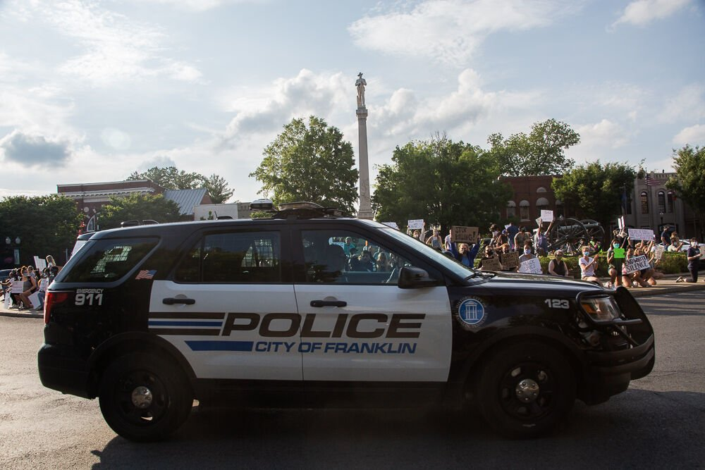 Franklin Police Franklin Protest Franklin Square 2020