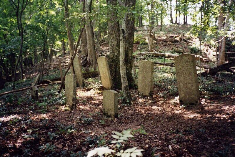Cowan Cemetery, John and Jane Cowan, Sweeney Hollow