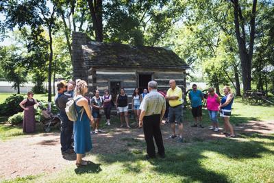 Carter House tour group