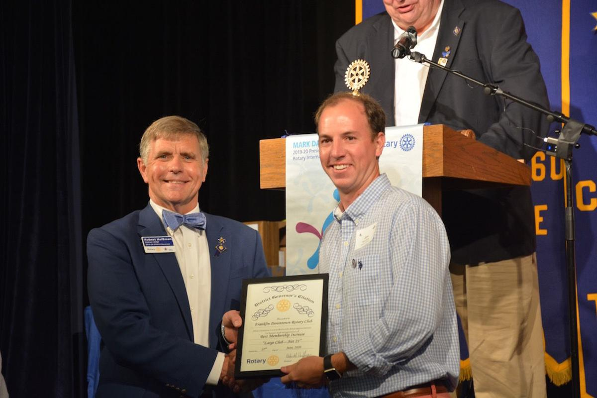 Downtown Rotary district award 1