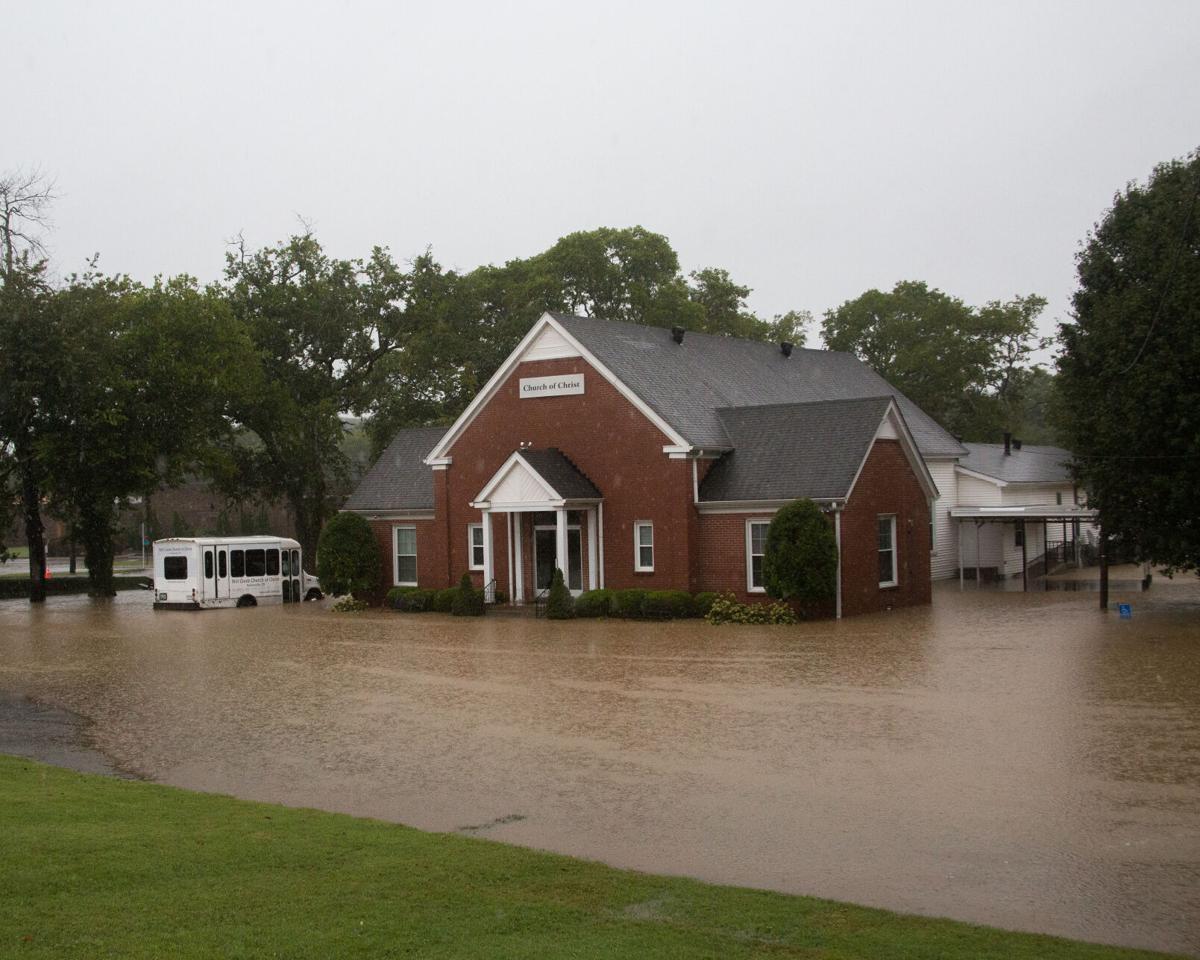 Mill Creek Church of Christ Nolensville flooding 091320