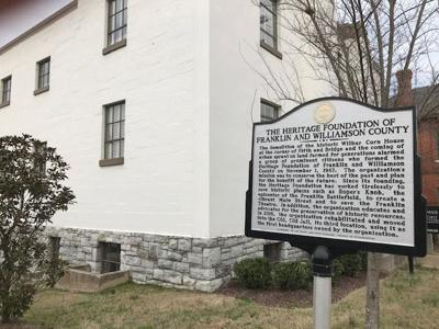 Heritage Foundation sign