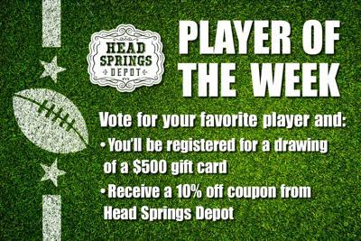 Player of the Week Head Springs Depot Header