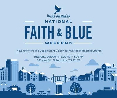 National Faith and Blue Weekend