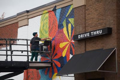 Nolensville's first mural blossoms as latest installment in Walls For Women project
