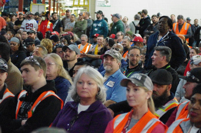 GM Plant workers