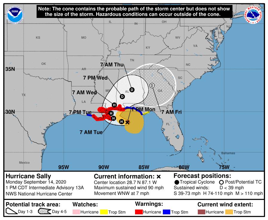 Hurricane Sally 091420