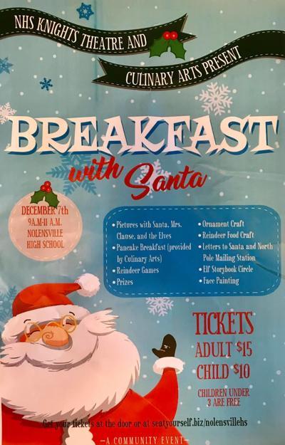 NHS Breakfast with Santa