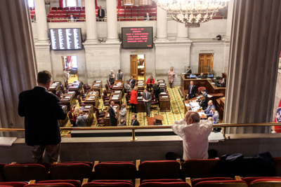 Legislature passes budget, recesses for two months