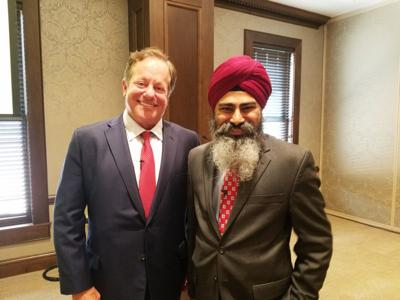 Tim-Pagliara-and-Dr.-Singh