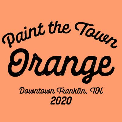 Heritage Foundation Paint Town Orange