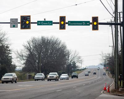 New traffic light at Franklin Rd. and Fountain Head Dr. 2