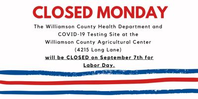 covid closed labor day