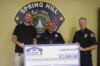 Maher Donation Foundation of Fallen Officers