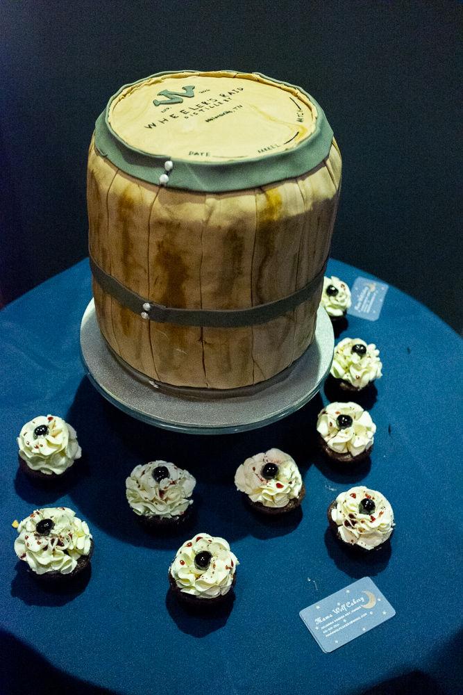 Wheeler's Raid Distillery cake