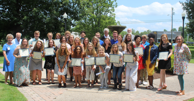 MASH group photo – graduation