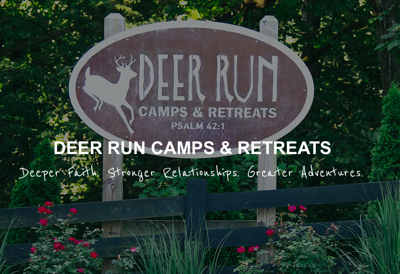 Deer Run sign