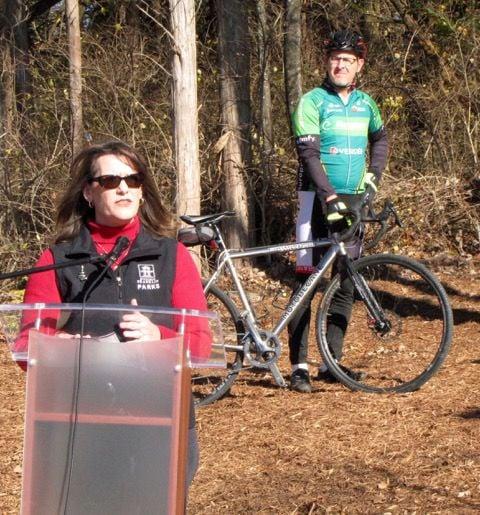 Mountain bike Lisa Clayton