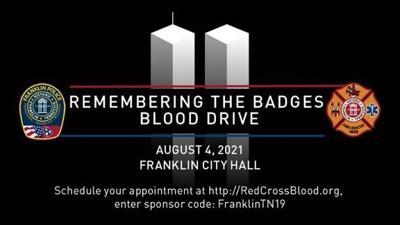 Franklin Battle of the Badges Blood Drive 2021