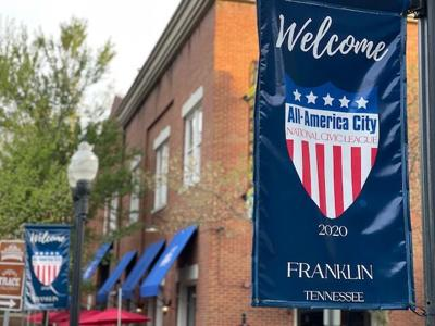 All-America City banner