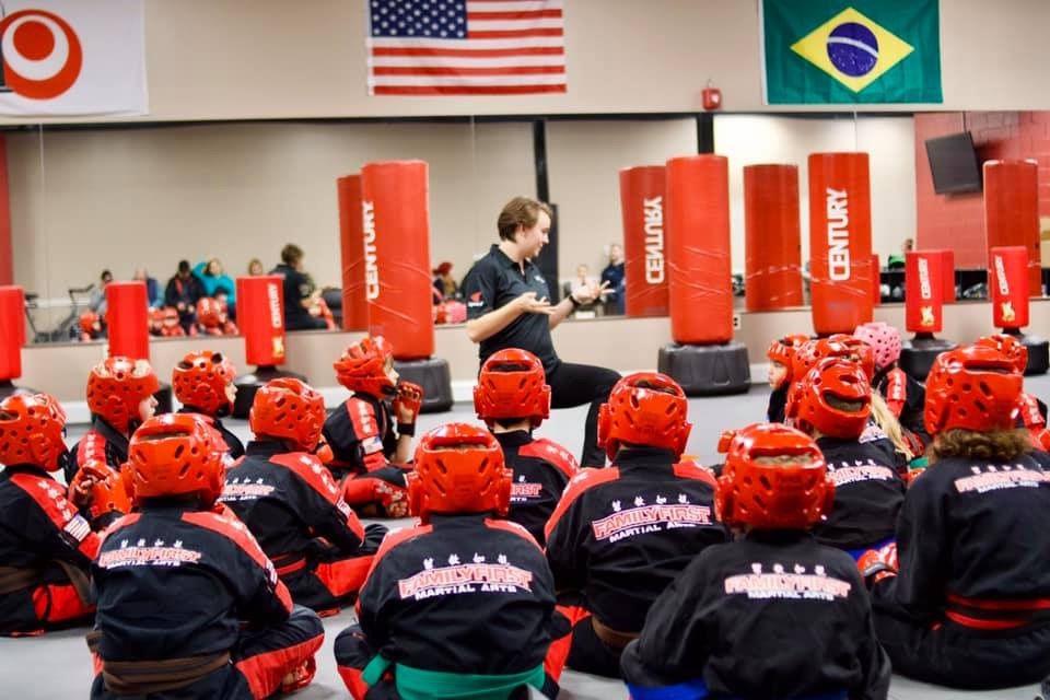 FF Martial Arts students