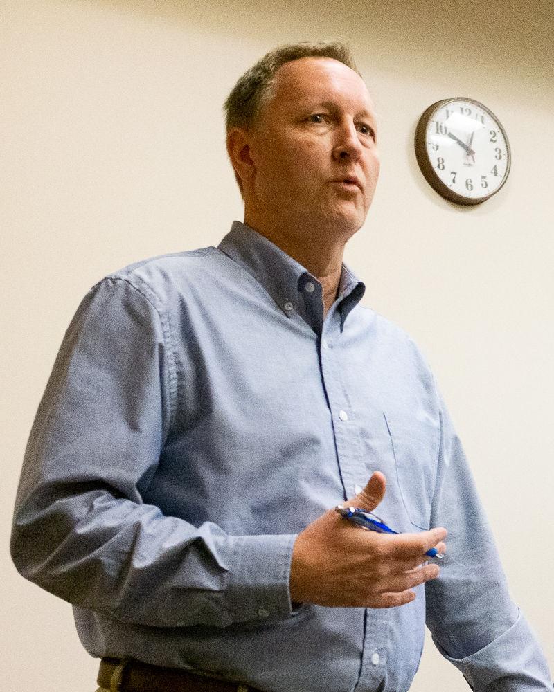 Nolensville Town Administrator Scott Collins