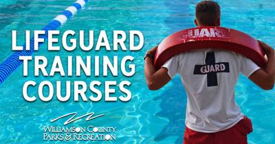 Lifeguard training poster