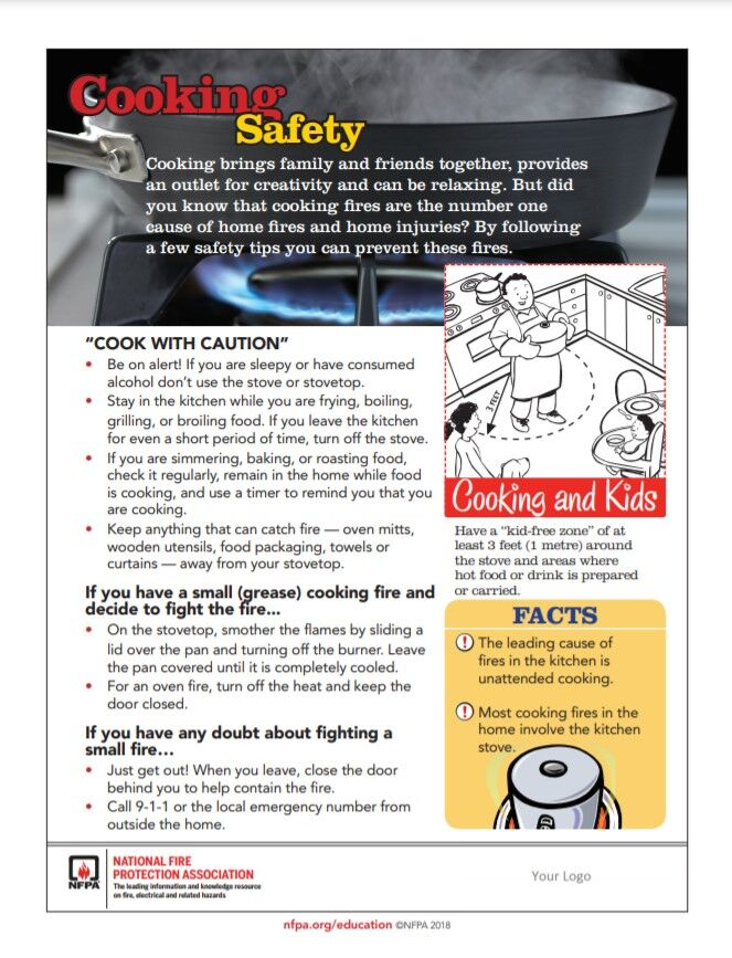 Thanksgiving cooking safety 1