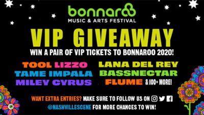 VIP Bonnaroo Passes
