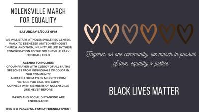 Nolensville March for Equality 2020