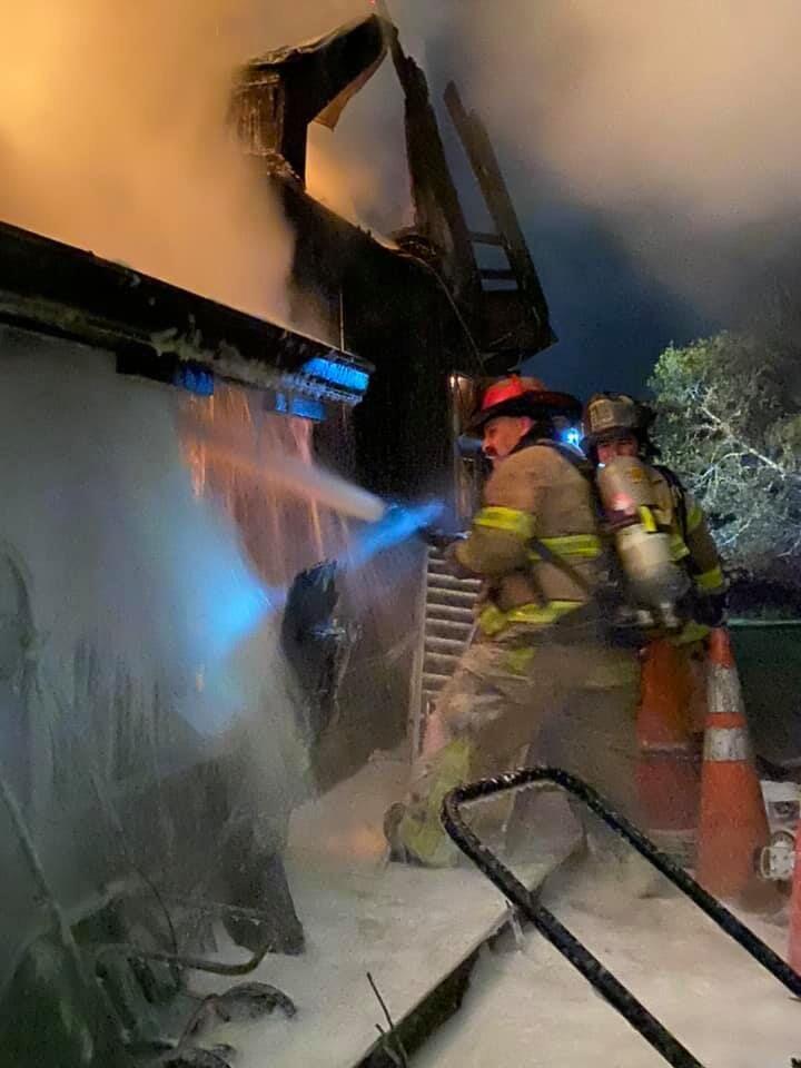 North Chapel Road fire 10272020 2