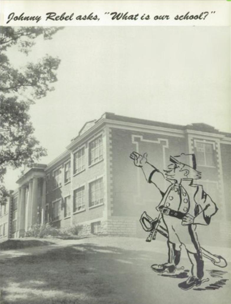 Franklin High School yearbook 1954 Rebels