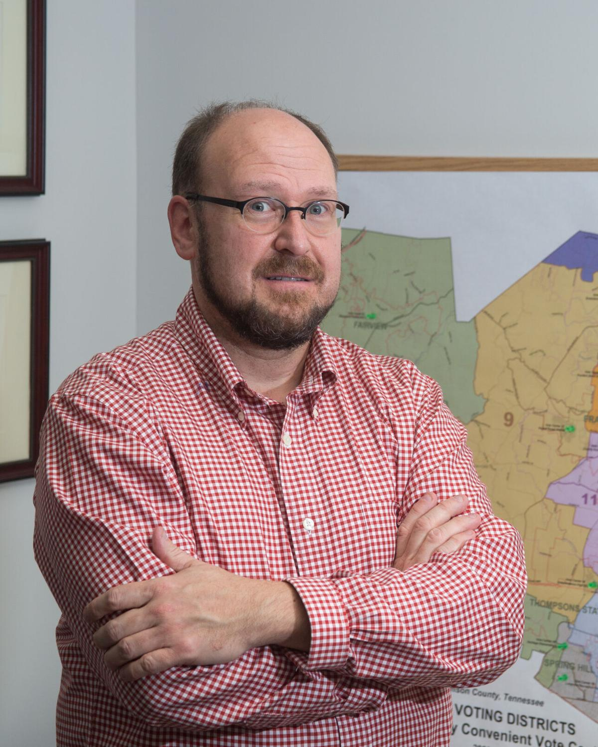 Williamson County Election Administrator Chad Gray