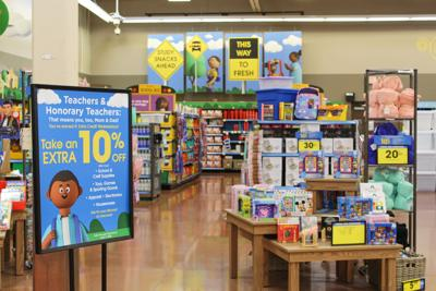 Kroger 10% off school supplies