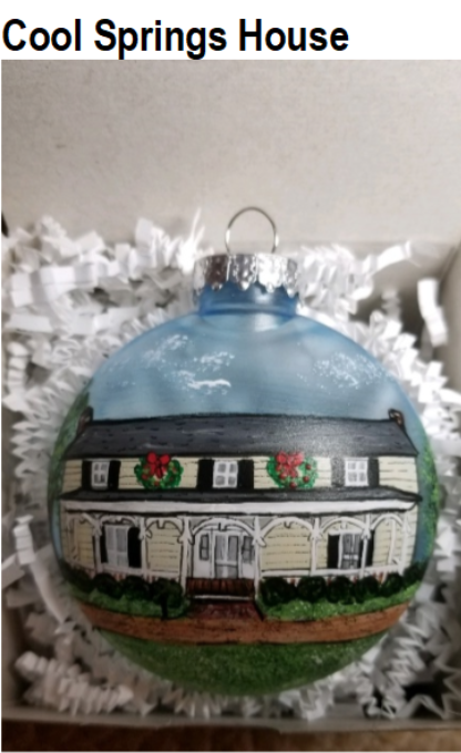 Brentwood Franklin Woman's Service Club Ornament Cool Springs House