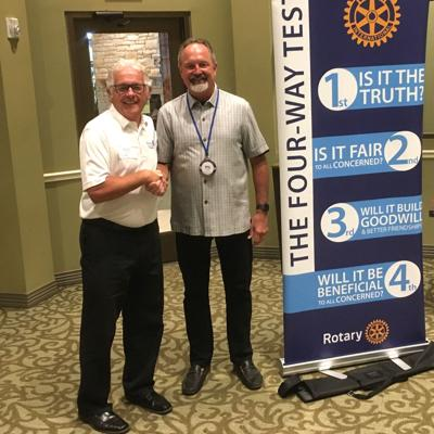 Downtown Rotary new president