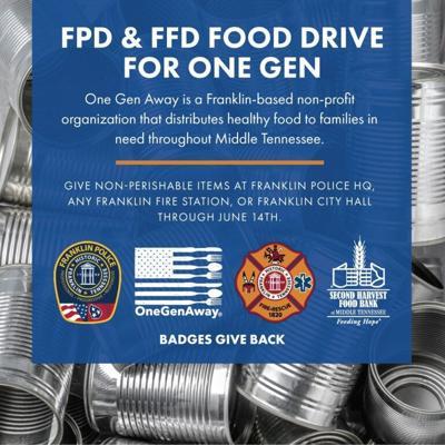 FPD FFD Franklin food drive 2021