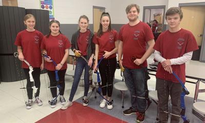 Page JROTC archery team