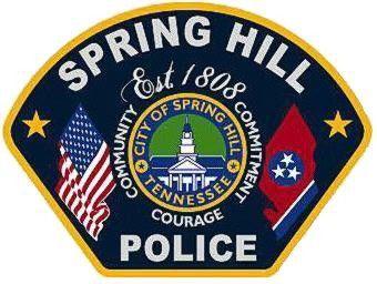 spring hill police badge