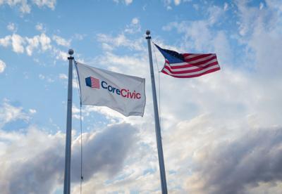 CoreCivic Flag