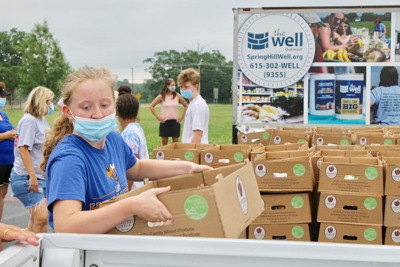 Mobile Food Drive The Well Outreach