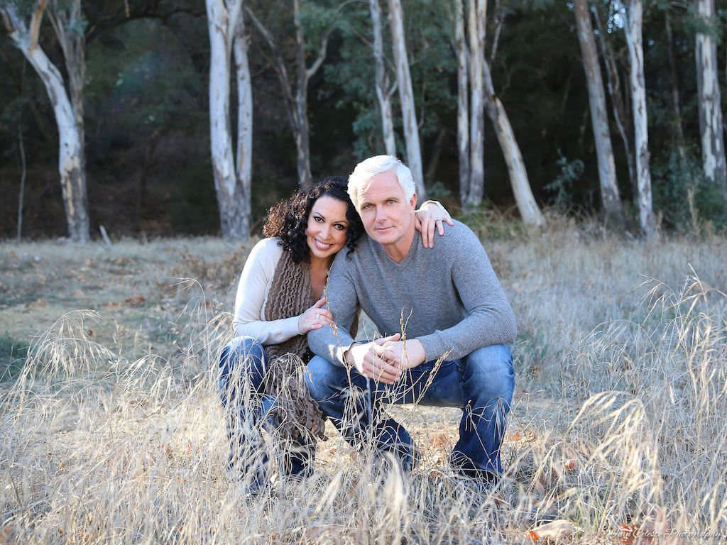 Patrick Cassidy and his wife, Melissa Hurley Cassidy.JPG