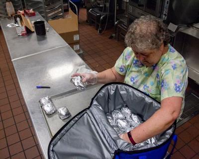 Franklin Special School District Food Delivery COVID-19 6