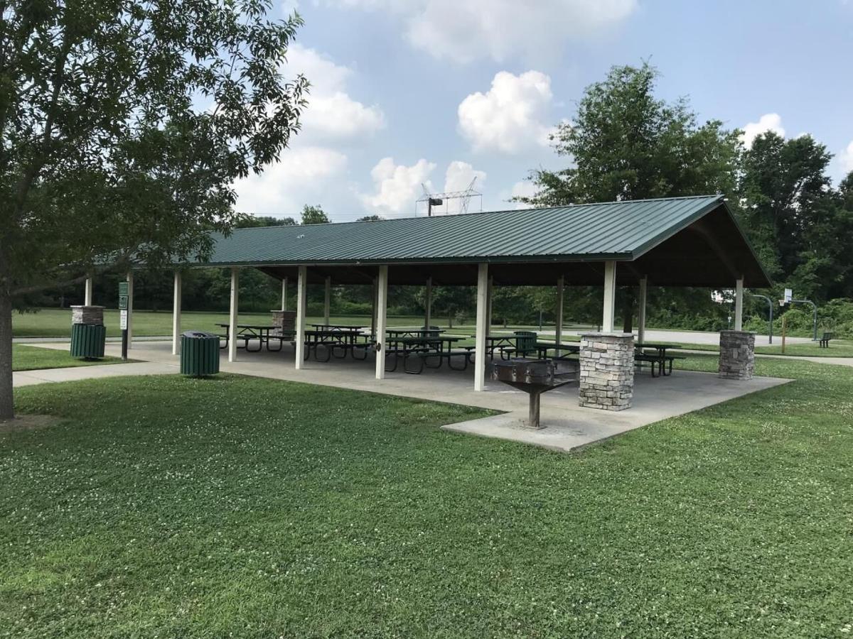 Brentwood park pavilion shelter