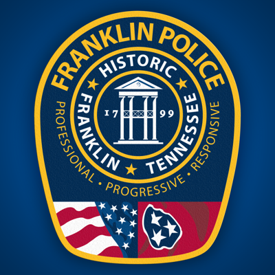 USE Franklin Police Department logo USE