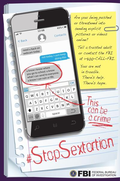 #StopSextortion FBI