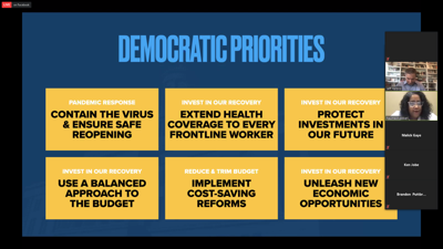 Senate Dems Priorities Conference