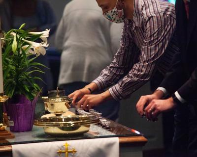 Nolensville's Jenkins Cumberland Presbyterian Church Communion Easter 2021 1