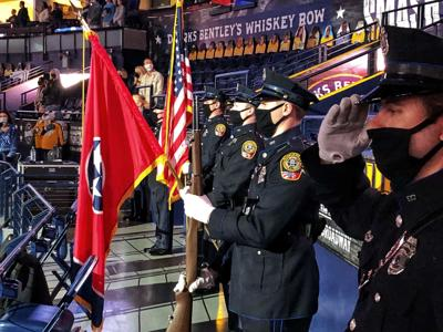 Franklin Police honor guard